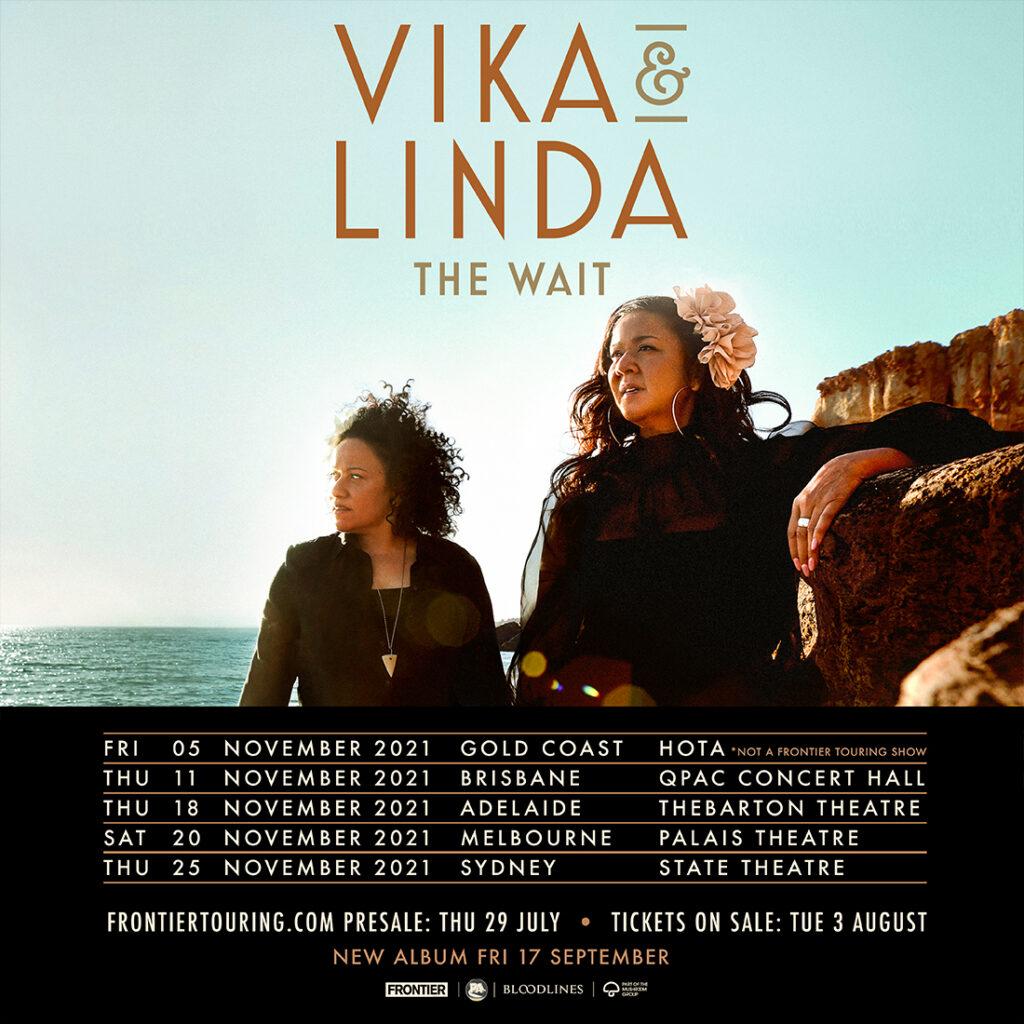 Vika and Linda tour dates